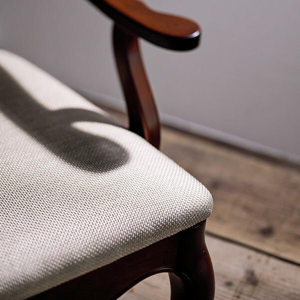 椅子のアップ画像